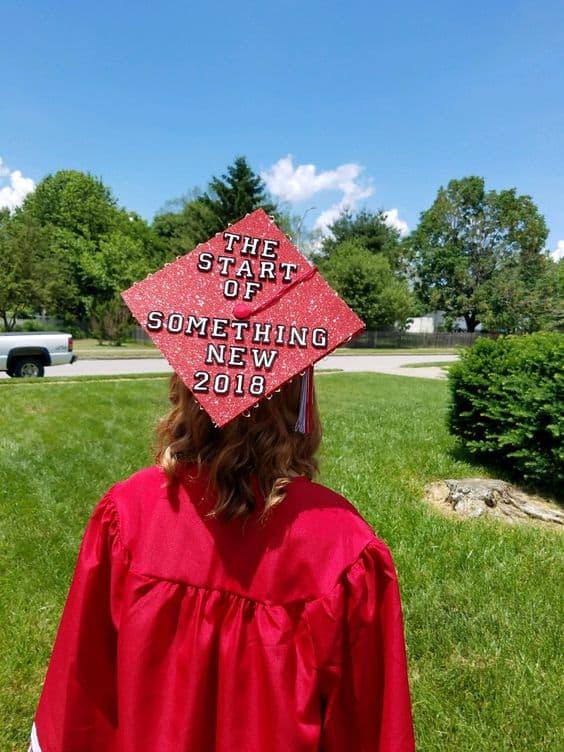 High School Musical Grad Cap - Magical Disney Grad Caps
