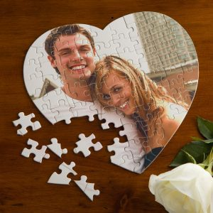 Personalized Heart Puzzle - Adorable Valentine's Day Gift