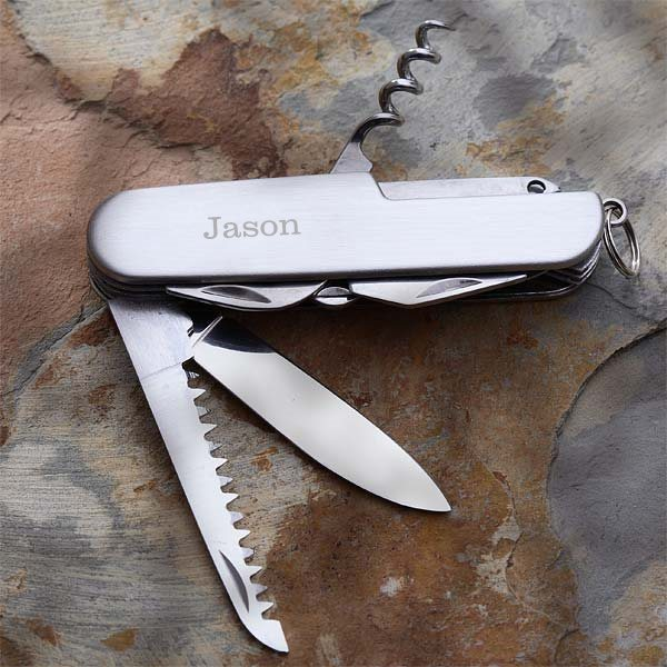 Personalized Pocket Knife - Great Gift for Valentine's Day!