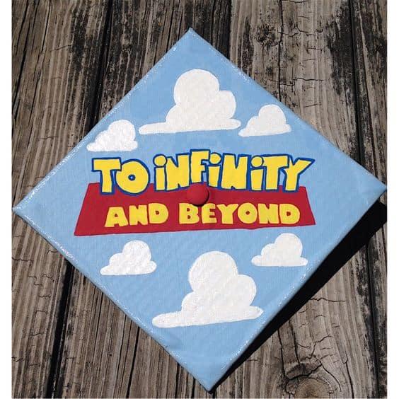 Toy Story Graduation Cap - 30 Magical Disney Graduation Cap Ideas