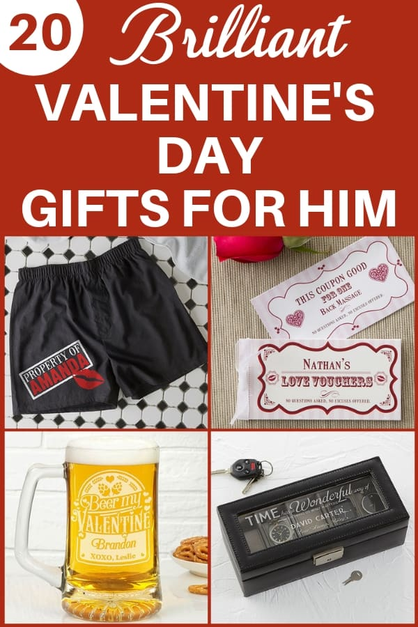 Valentine's Day gifts for him - Looking for fabulous Valentine's Day gift ideas for your husband or boyfriend?  Check out these great gift ideas that your favorite man is sure to love!  #FINDinista.com #valentinesgifts