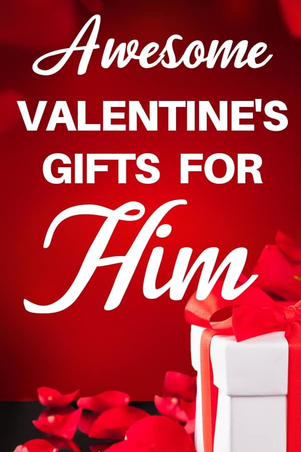 Valentines Gifts for Him - Looking for fabulous Valentine's Day gift ideas for your husband or boyfriend? Click to see 30+ awesome Valentine's Day gifts that your favorite man will love! #FINDinista.com #valentinesgifts #valentinesday