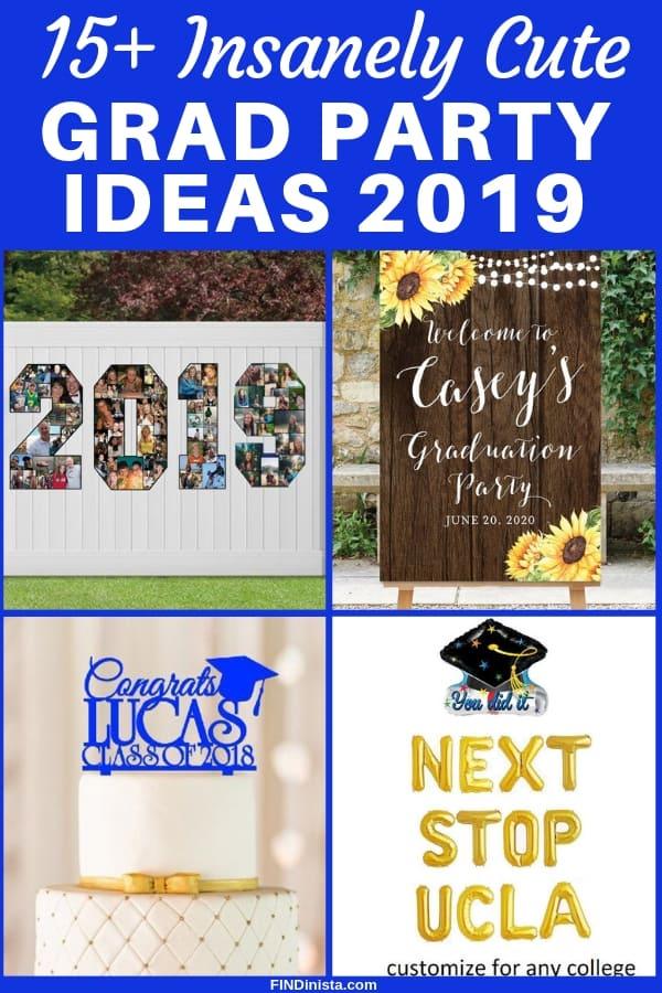 Graduation Party 2020.Graduation Party Ideas 2019 Insanely Cute Grad Party