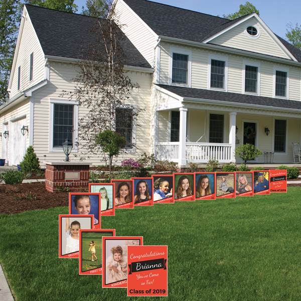 K-12 Photo Yard Signs