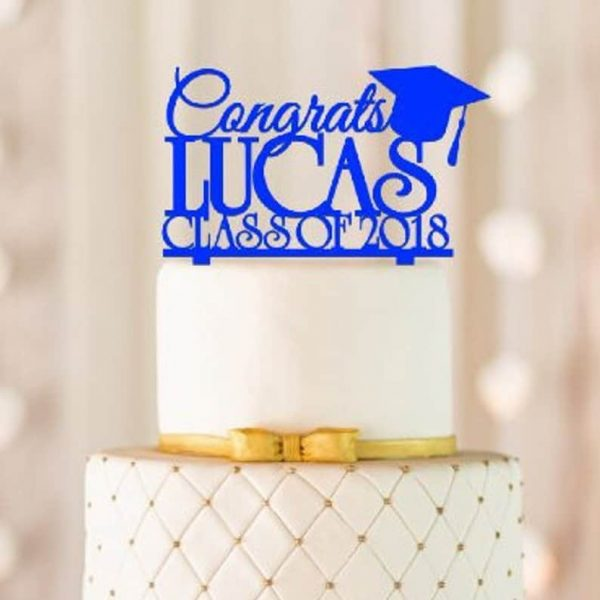 Personalized Graduation Cake Topper