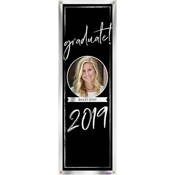 Personalized Vertical Banner with Photo