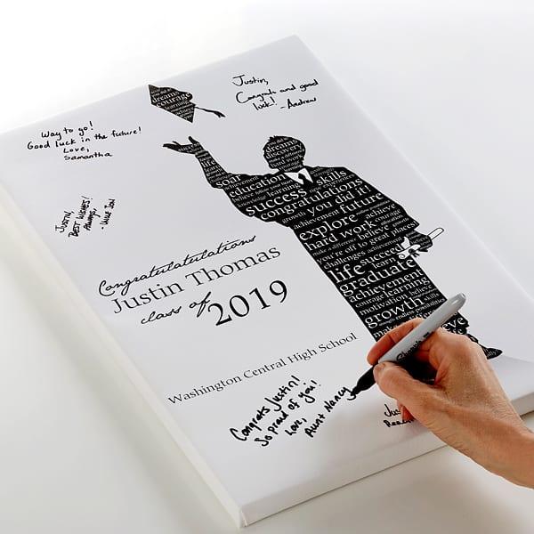 Graduation Guest Book Signature Print