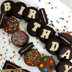 Chocolate Covered Birthday Oreos Gift Set
