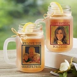Birthday Gifts for Nana - Personalized Mason Jar