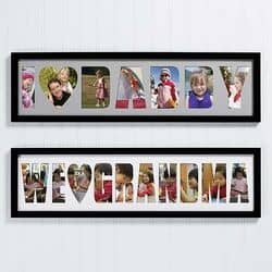 I Heart/We Heart Nana Collage Picture Frame