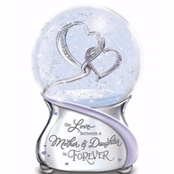 Always in My Heart Musical Snow Globe for Mom