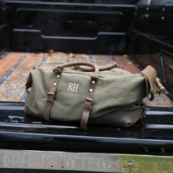 Military Style Oversized Weekend Travel Bag for Men