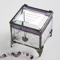 Personalized Vintage Treasures Jewelry Box