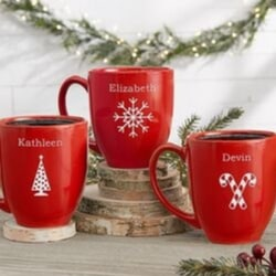 Personalized Nana Christmas Mug - 3 Styles