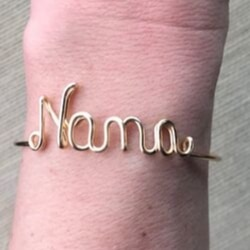 Nana Bracelet - Silver, Gold or Rose Gold