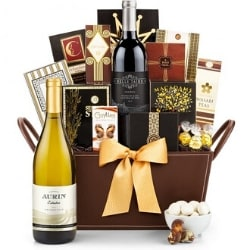 Wine Gift Baskets - Choice of Styles