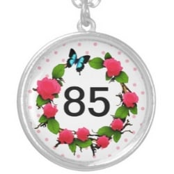 85th Birthday Necklace for Women