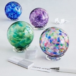 Birthstone Wishing Ball - Holds a Year of Wishes
