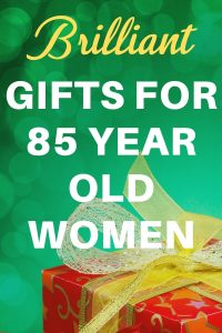 Gifts for an 85 Year Old Woman - Shopping for birthday or Christmas gifts for 85 year old woman? Delight her with one of these top gift ideas! Click to see 50+ unique gifts for a woman who is 85.