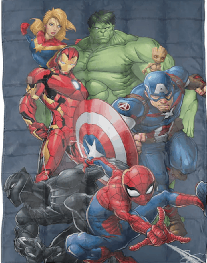 Marvel Avengers Weighted Blanket - Perfect Gift for Avengers Fans!