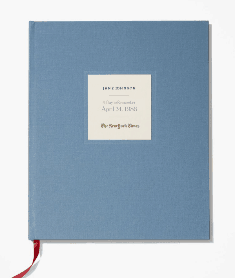 Unique 85th Birthday Gift Ideas - Impress someone special with personalized New York Times book that features a reprint of The New York Times from the day they were born.
