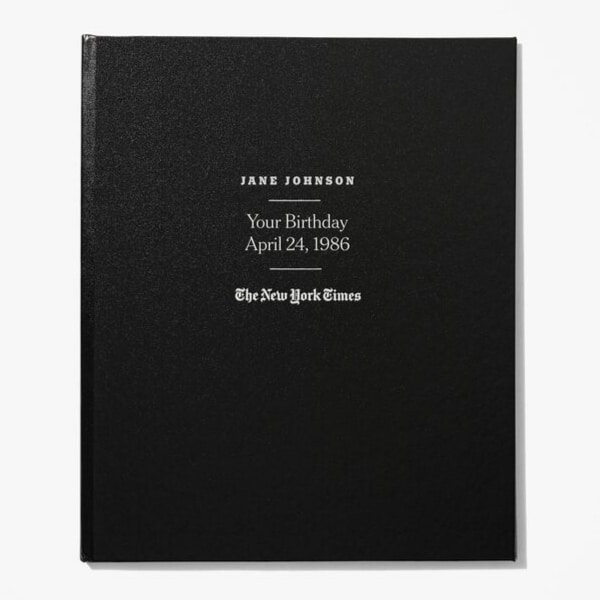 Birthday Gift for 90 Year Old - Looking for a unique 90th birthday gift for the man or woman who has everything? Impress them with The New York Times Custom Birthday book - every birthday front page for all 90 years!