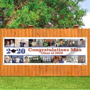 2020 Graduation Banner with Multiple Photos
