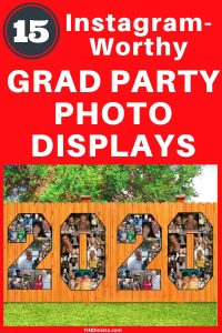 Graduation Party Decorating Ideas 2020 - Looking for clever decorating ideas for a college or high school grad party? Check out these awesome ways to display photos!