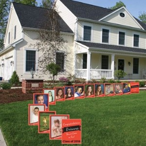 K-12 Photo Yard Signs for Graduation