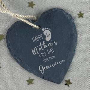 Personalized 1st Mother's Day Slate Keepsake