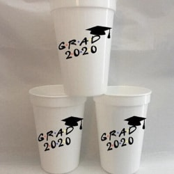 Friends Grad Party Cups