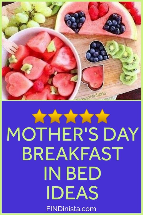 Mother's Day Breakfast in Bed Ideas - Looking for cute but easy ideas for Mother's Day breakfast? Spoil Mom with these adorable (and yummy) breakfast ideas!