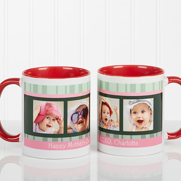 First Mother's Day mug is a cute (and inexpensive) gift that the new mom will love using!