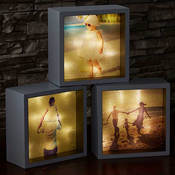 First Mother's Day Photo Gifts - What a sweet way to showcase a favorite picture of the new baby!