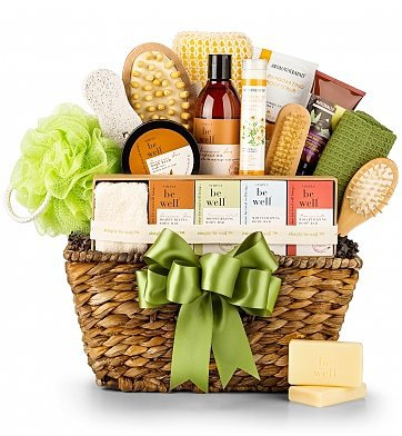Relaxing Gifts for Stressed Moms - Pamper her with a luxurious spa gift basket!