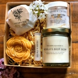 World's Best Mom Spa Gift Box - Ships Free!