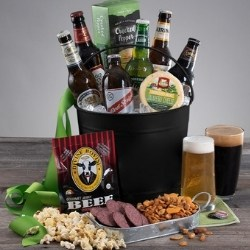 Around the World Beer Gift Basket