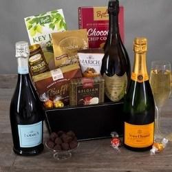 Champagne & Truffles Gourmet Gift Basket