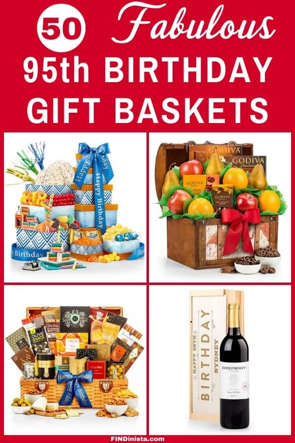 95th Birthday Gift Baskets