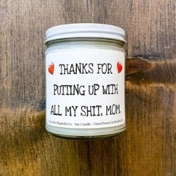 Funny Candle for Mom from Daughter - Choice of Scents