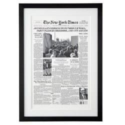 NY Times Front Page from the Day You Were Born Reprint