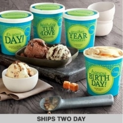 Happy Birthday Ice Cream Gift Basket