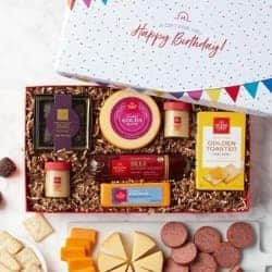 Hickory Farms Birthday Wishes Gift Basket