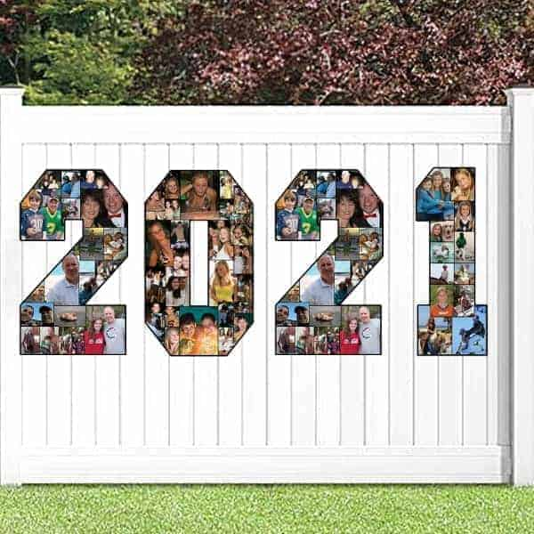 2021 Grad Party photo displays - Looking for clever ways to display pictures at a grad party?  Check out these easy but impressive ideas!