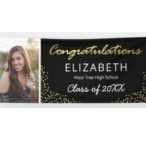 Class of 2021 Graduation Banner with Photo