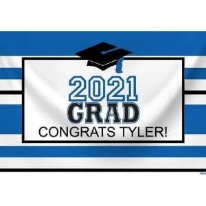 2021 Personalized Graduation Party Banner